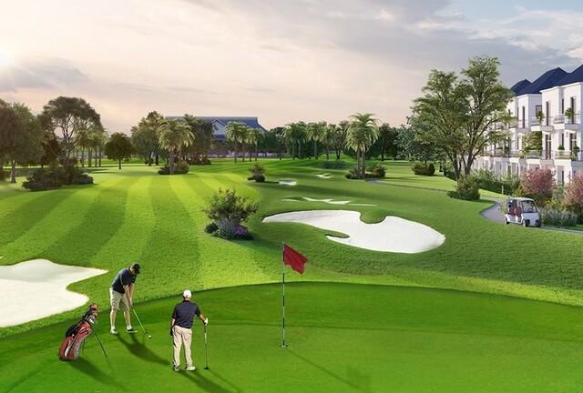 Tiện ích Sân Golf tại Dự án West Lakes Golf & Villas